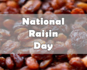 national raisin day