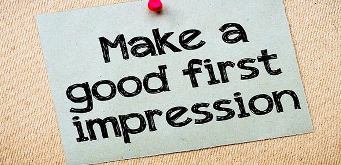 online first impression