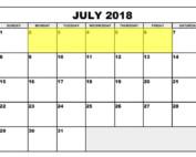 July 2-6 2018 Food Holidays