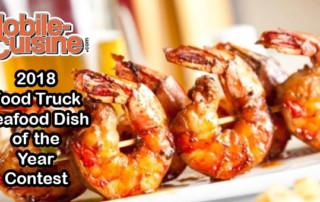 2018 food truck Seafood dish