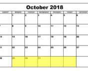 Oct 29 2018 Food Holidays