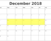 Dec 10-14 2018 Food Holidays