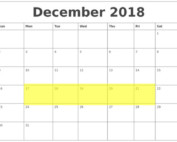 Dec 17-21 2018 Food Holidays