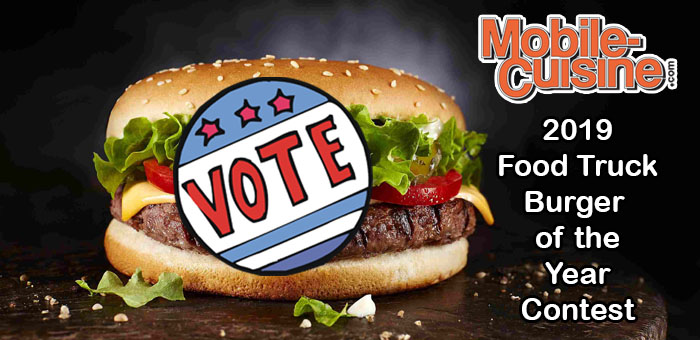 2019 food truck burger