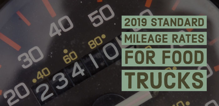 2019 Standard Mileage Rates