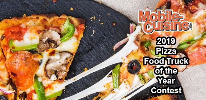 2019 Pizza Food Truck