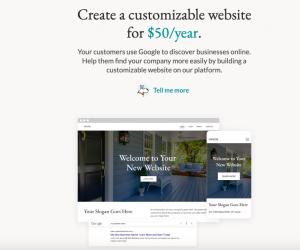 website offer